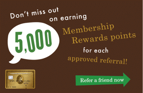 American Express Canada Refer a Friend