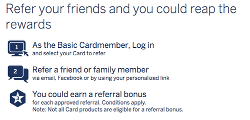 Refer your friend and you could reap the rewards - American Express