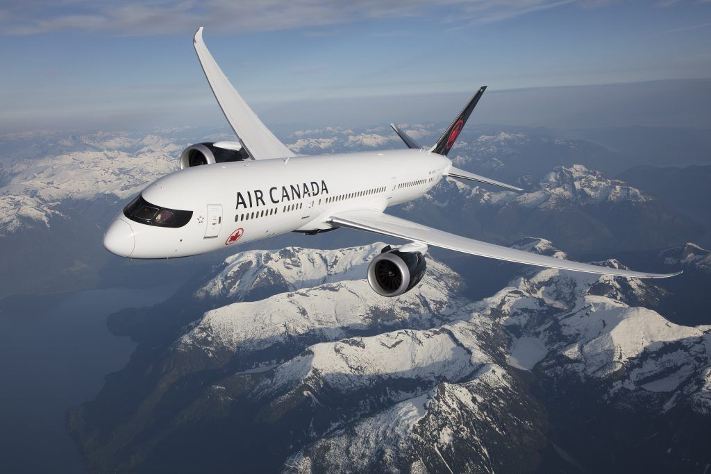 Bonus Aeroplan miles on Air Canada flights