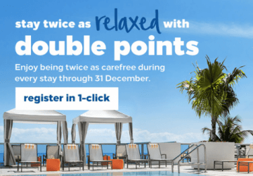 Hilton Double Up Promotion