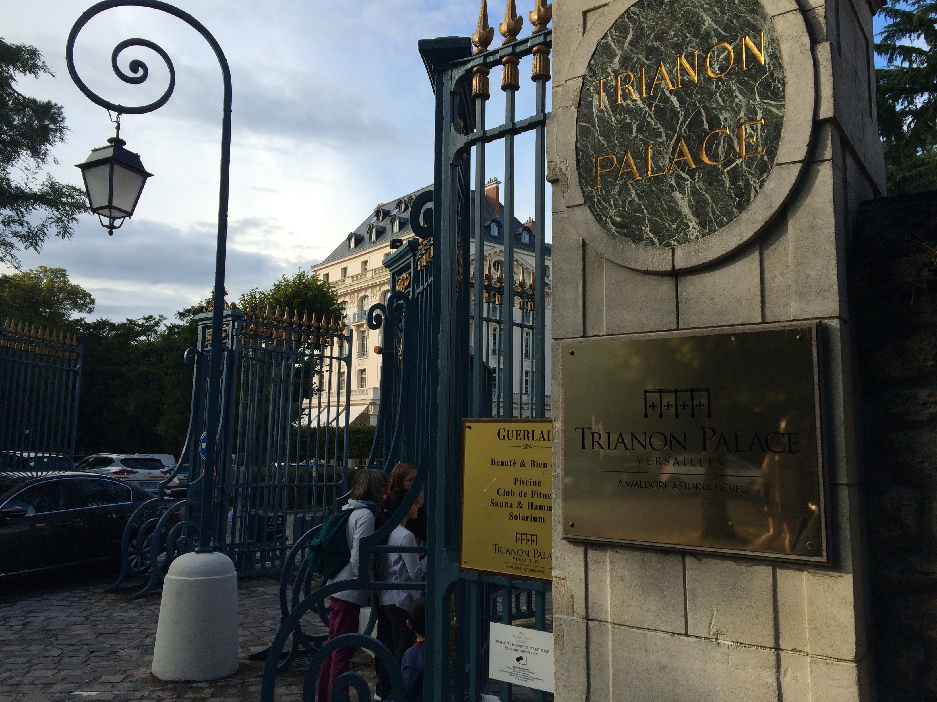 Entrance of the Trianon Palace Versailles, A Waldorf Astoria Hotel