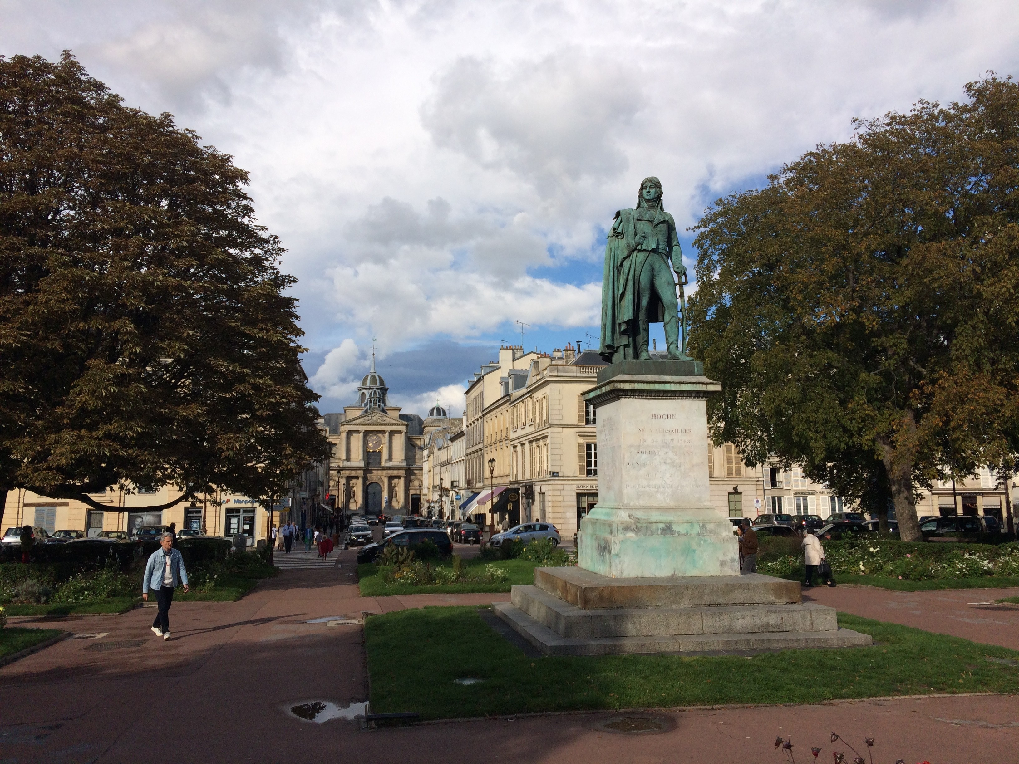 Place Hoche, city of Versailles