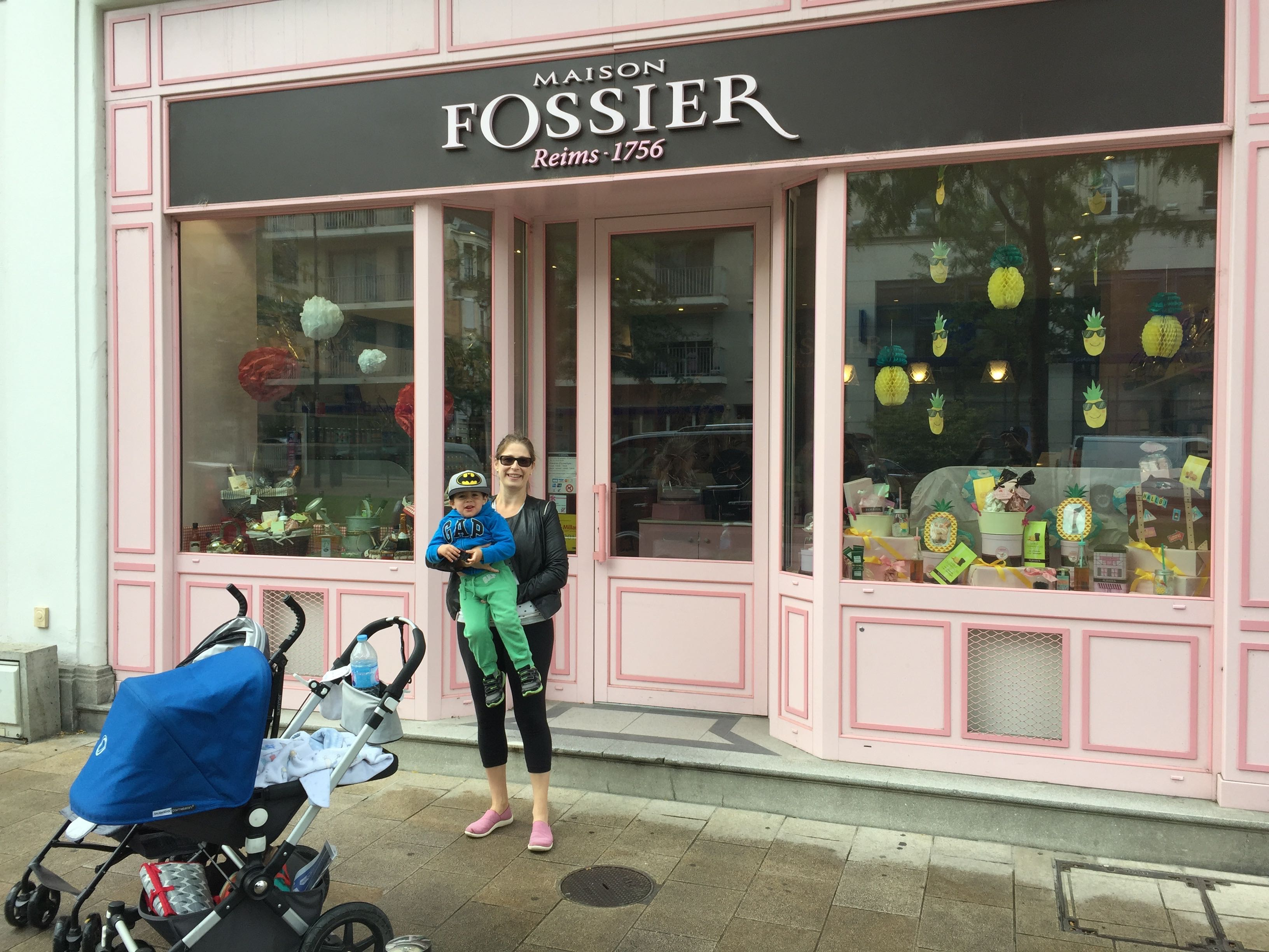 Family Shopping at Fossier, Reims