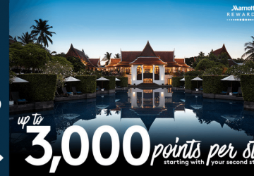 Marriott Rewards MegaBonus 2018