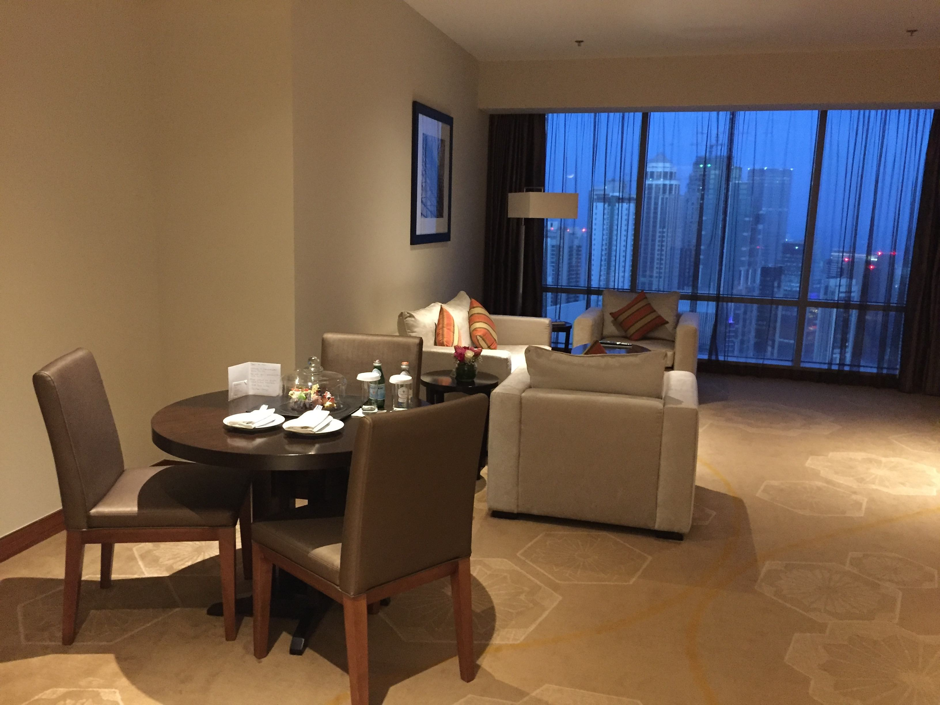 Dining and living room - InterContinental Doha The City