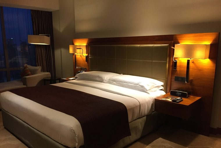 InterContinental Doha The City Executive Room King Size bed