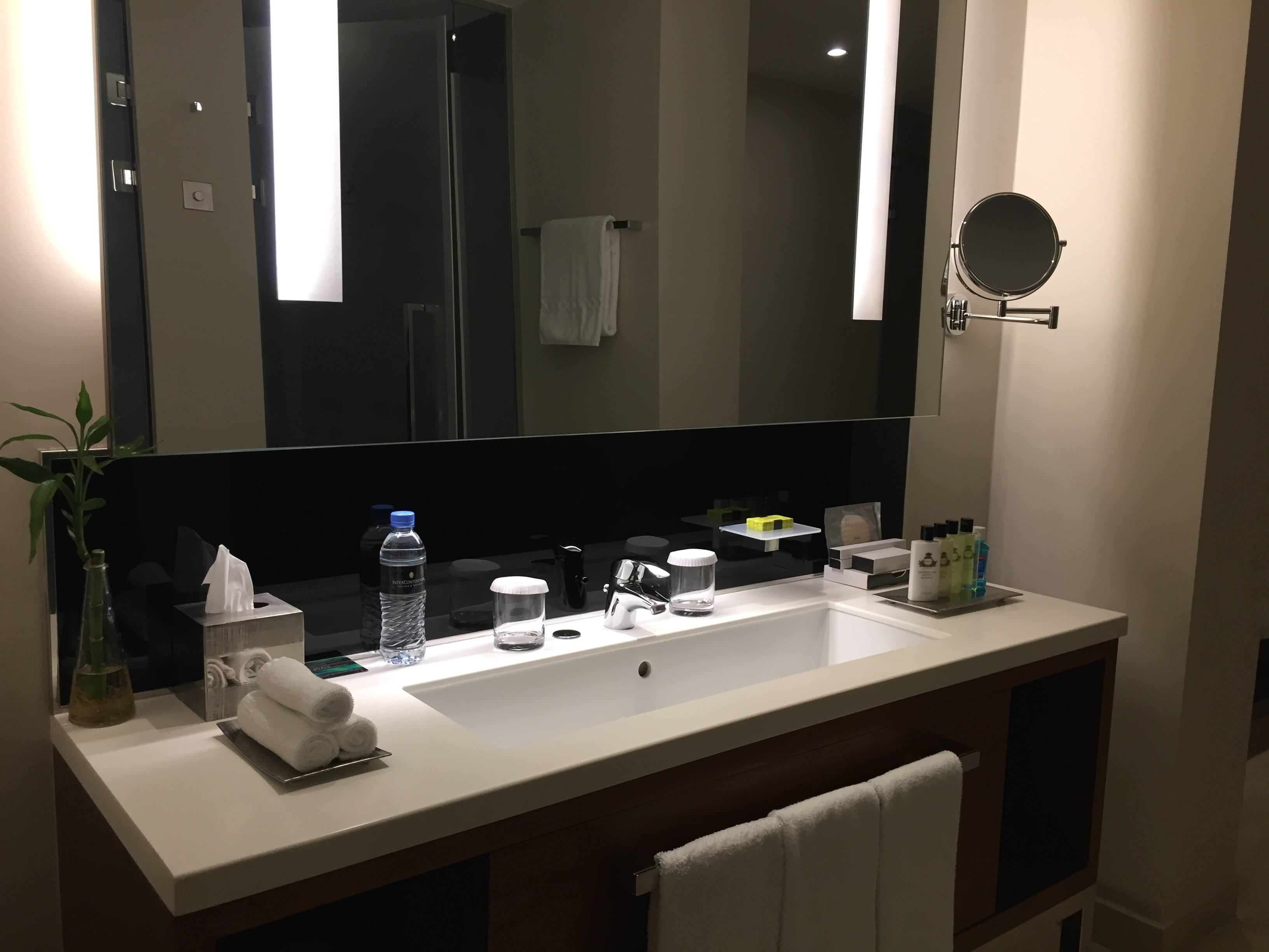 Master bathroom sink- InterContinental Doha The City