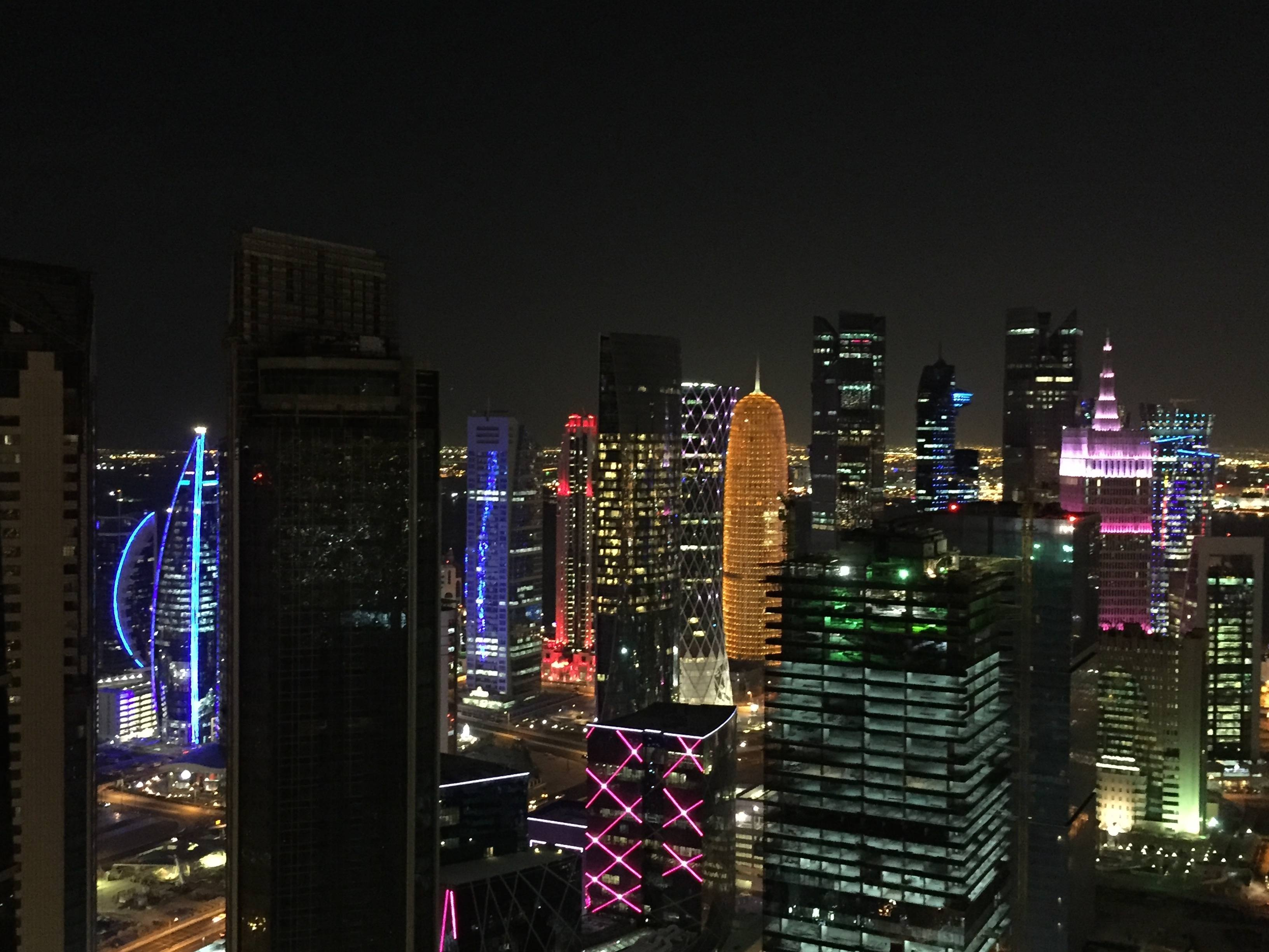 The best view of West Bay from the InterContinental Doha The City