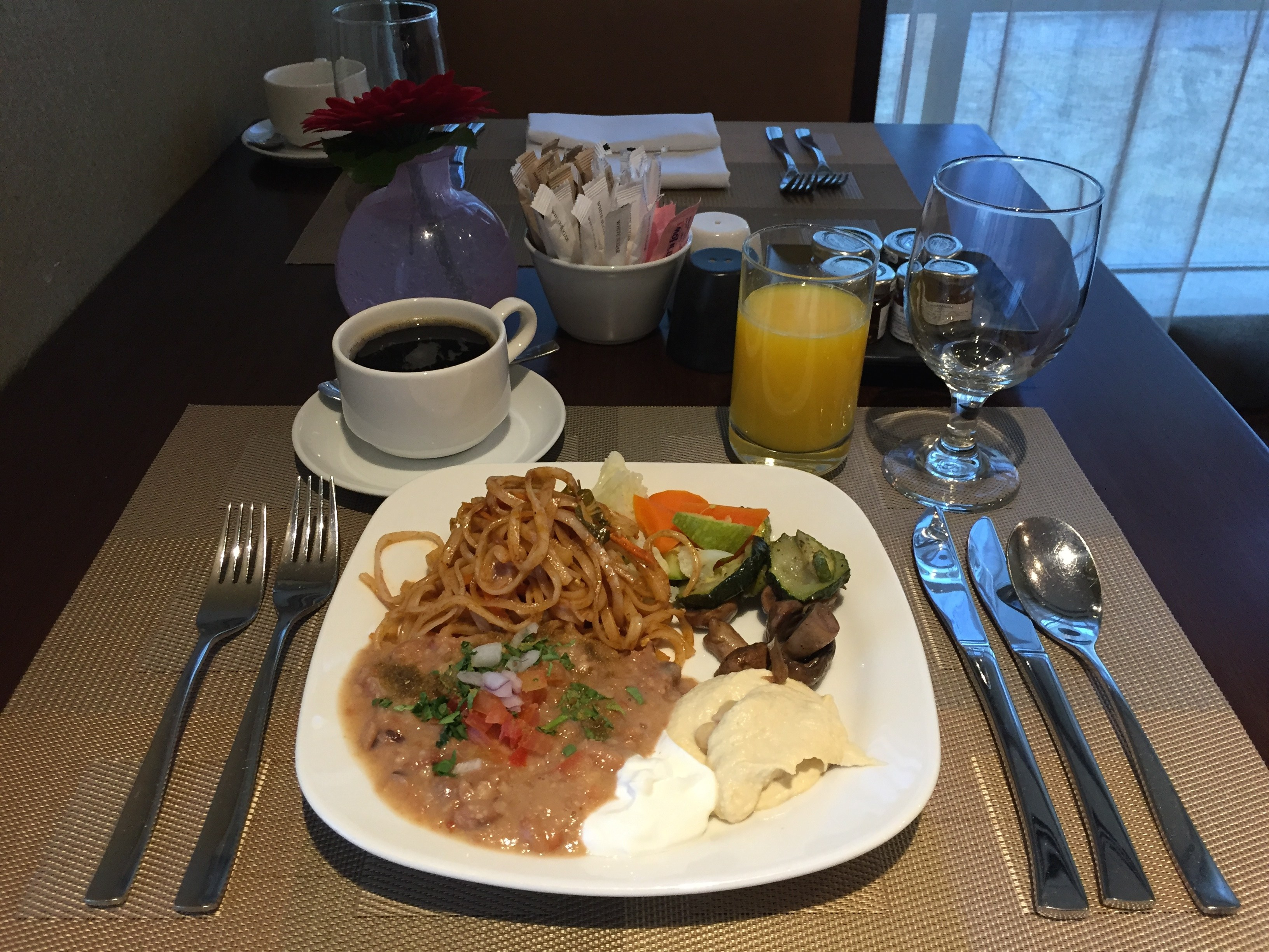 Arabic & Thai style breakfast - InterContinental Doha The City