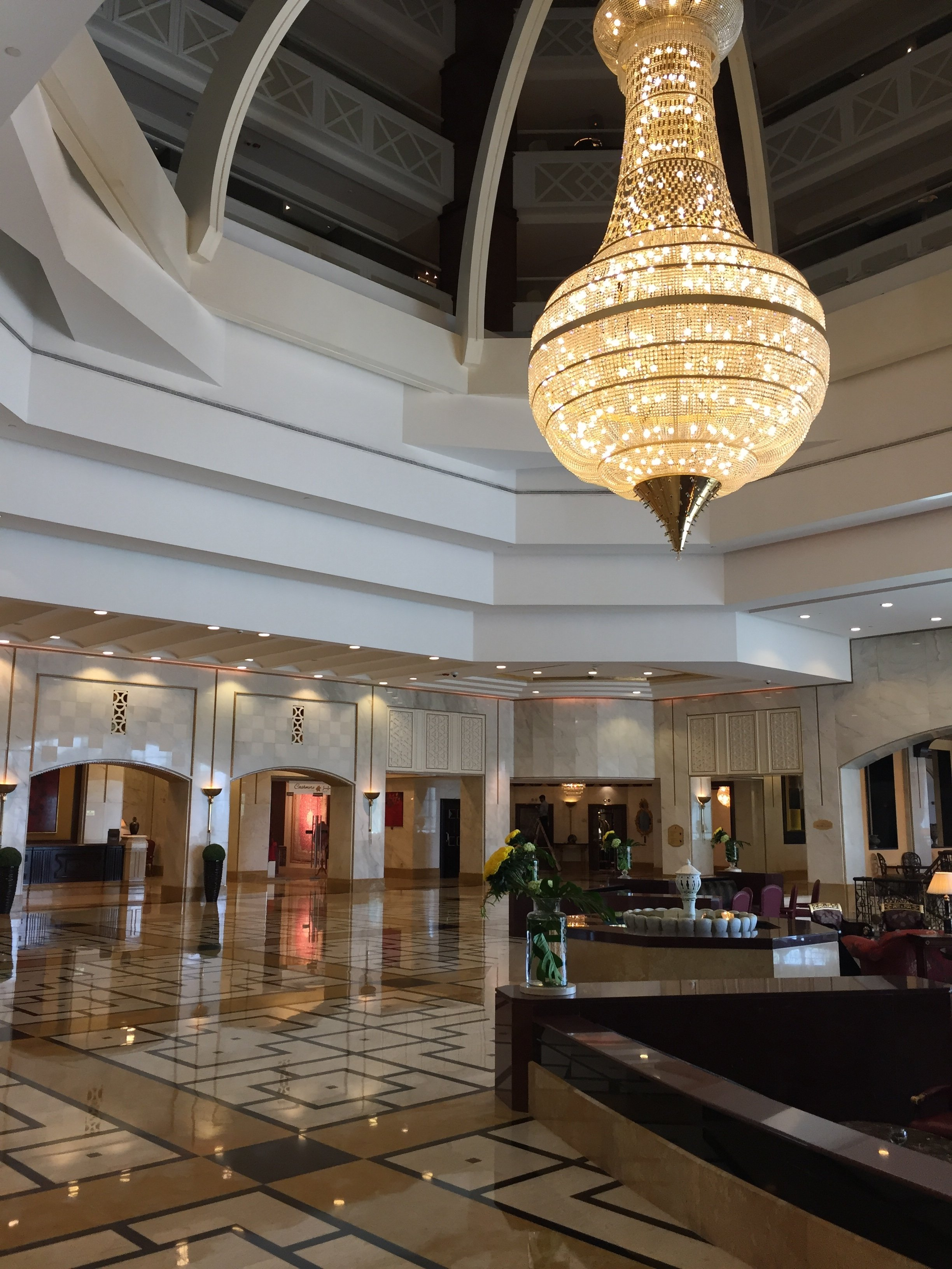 The Ritz-Carlton Doha lobby