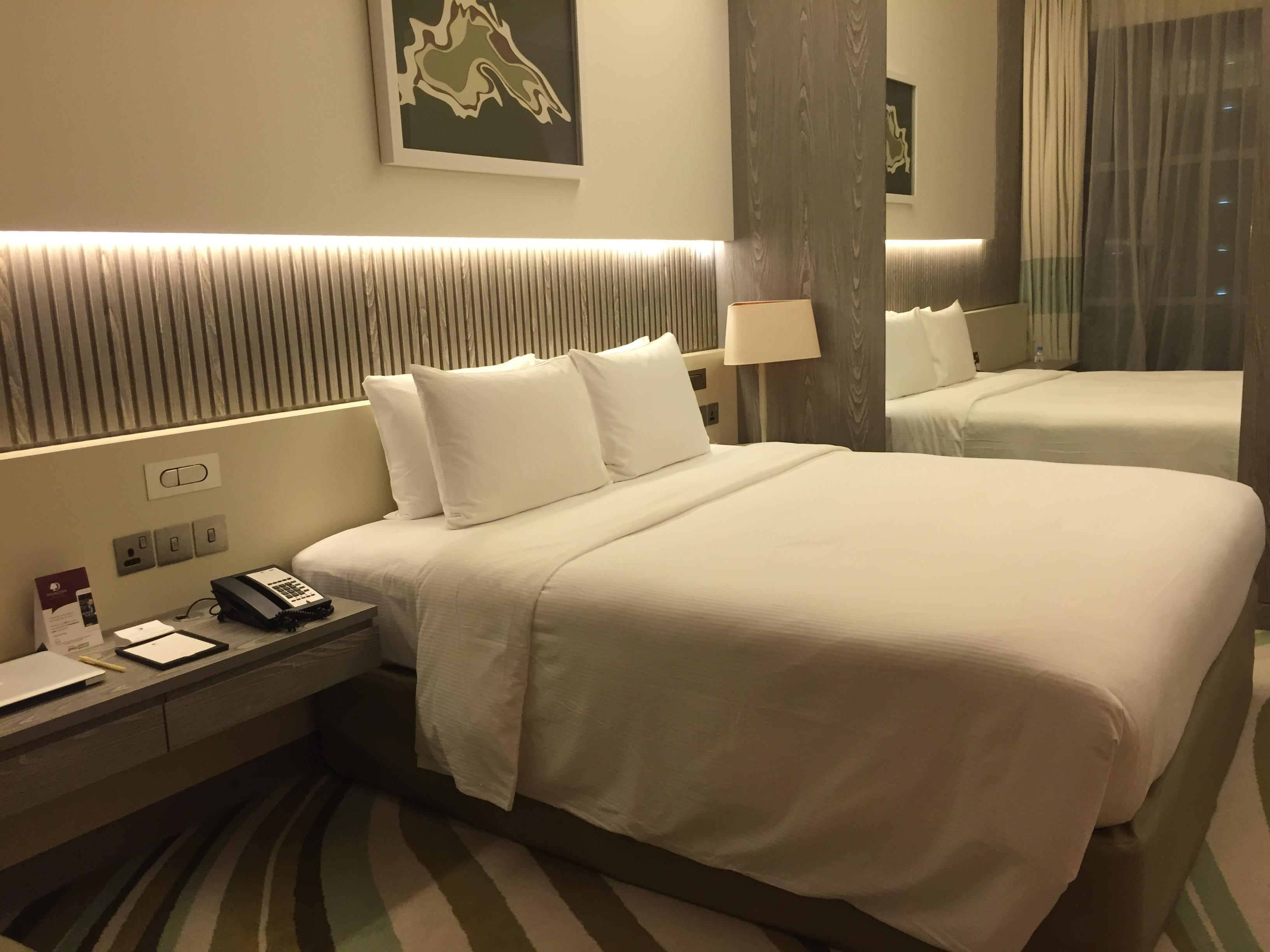 DoubleTree Doha King Size bed