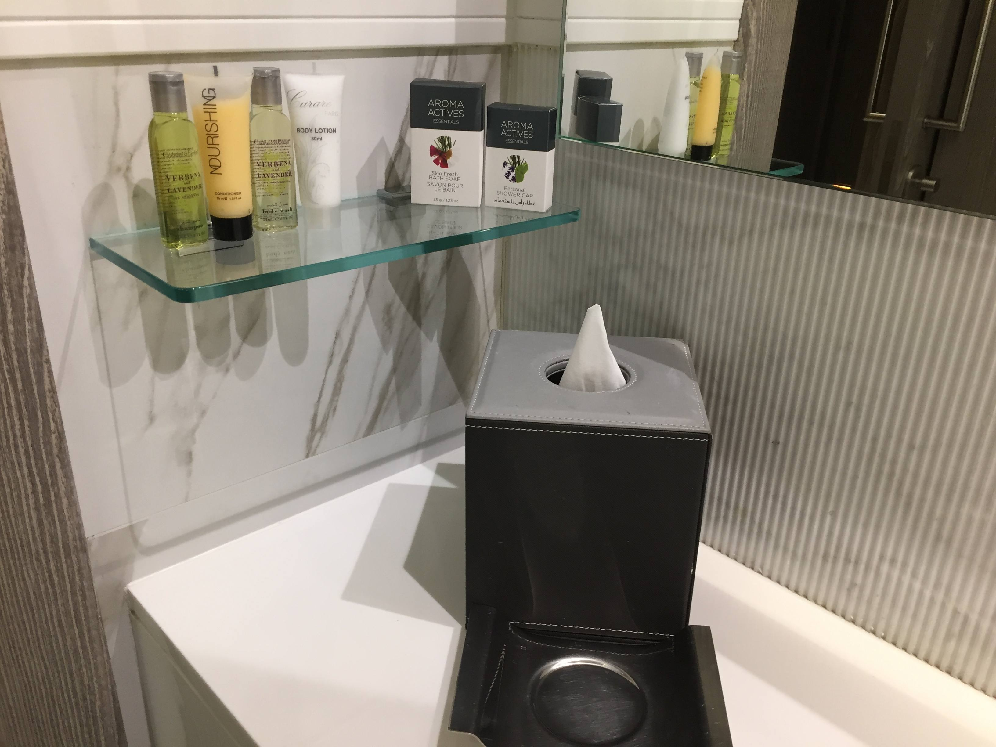 DoubleTree Doha bath amenities