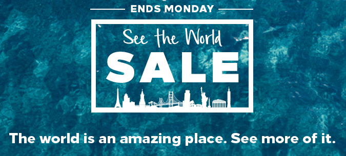 See The World Sale Hilton Honors