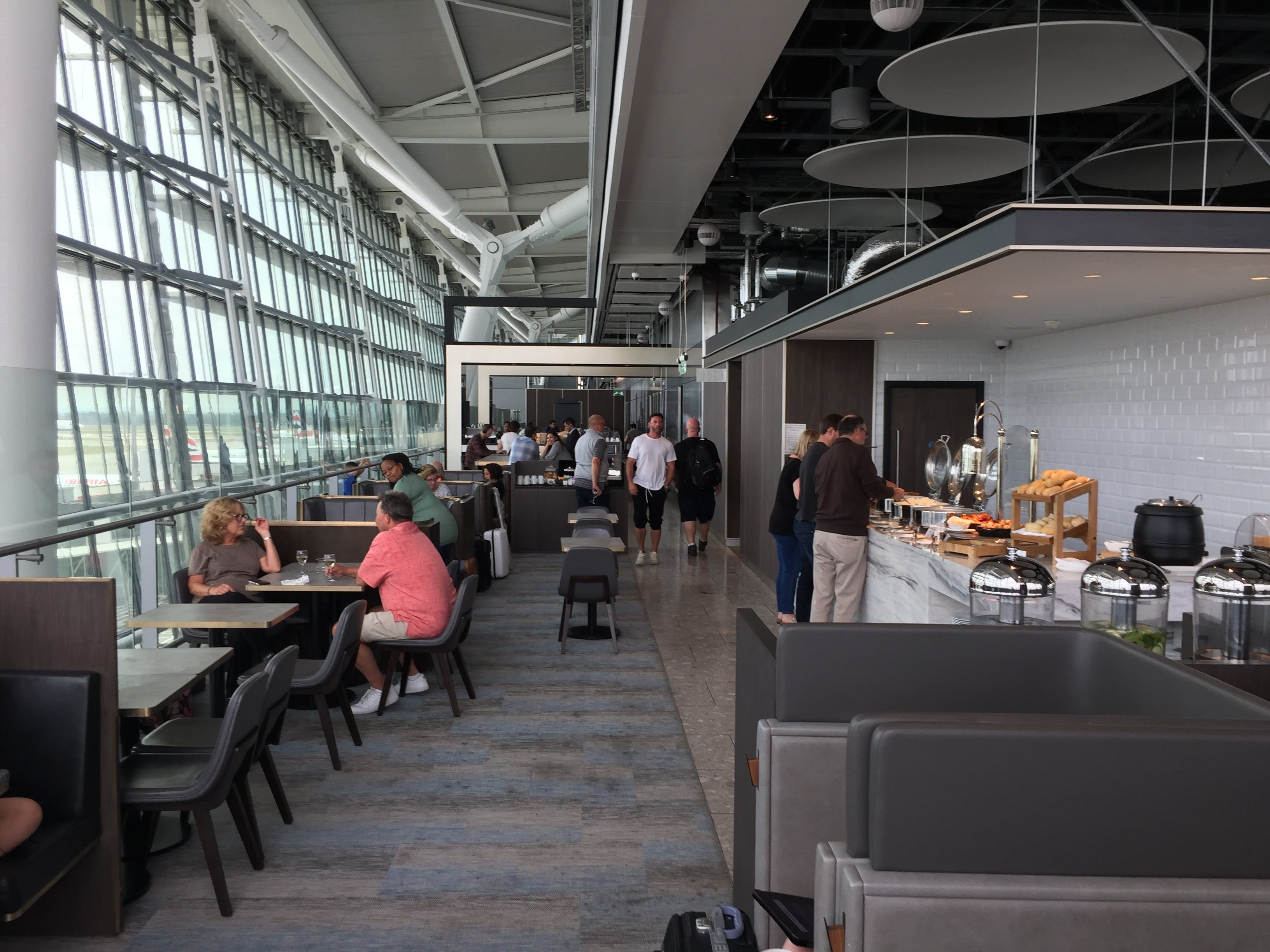 View of Plaza Premium Lounge - London Heathrow T5