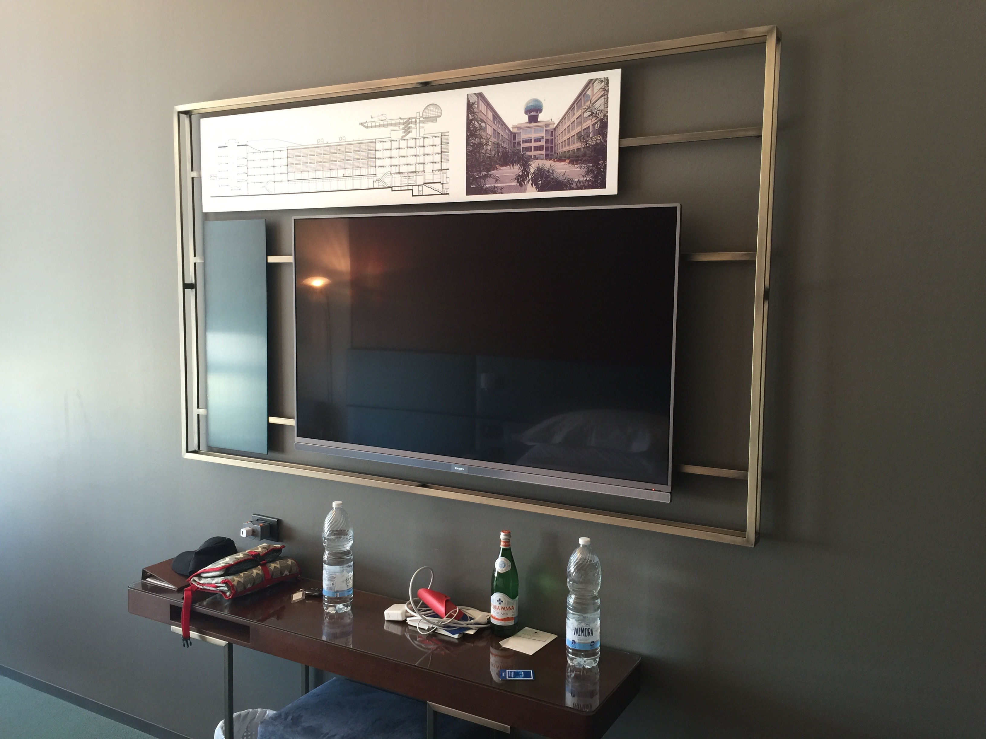 Industrial design around the TV set - DoubleTree Turin Lingotto