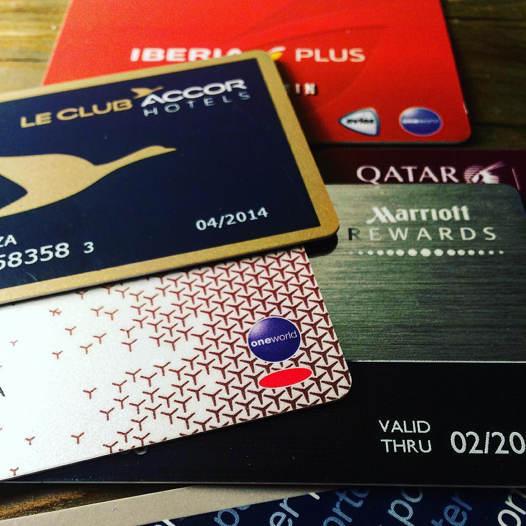 Airlines & hotels loyalty cards