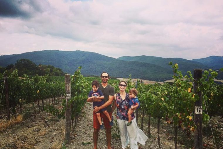 Family trip in Tuscany