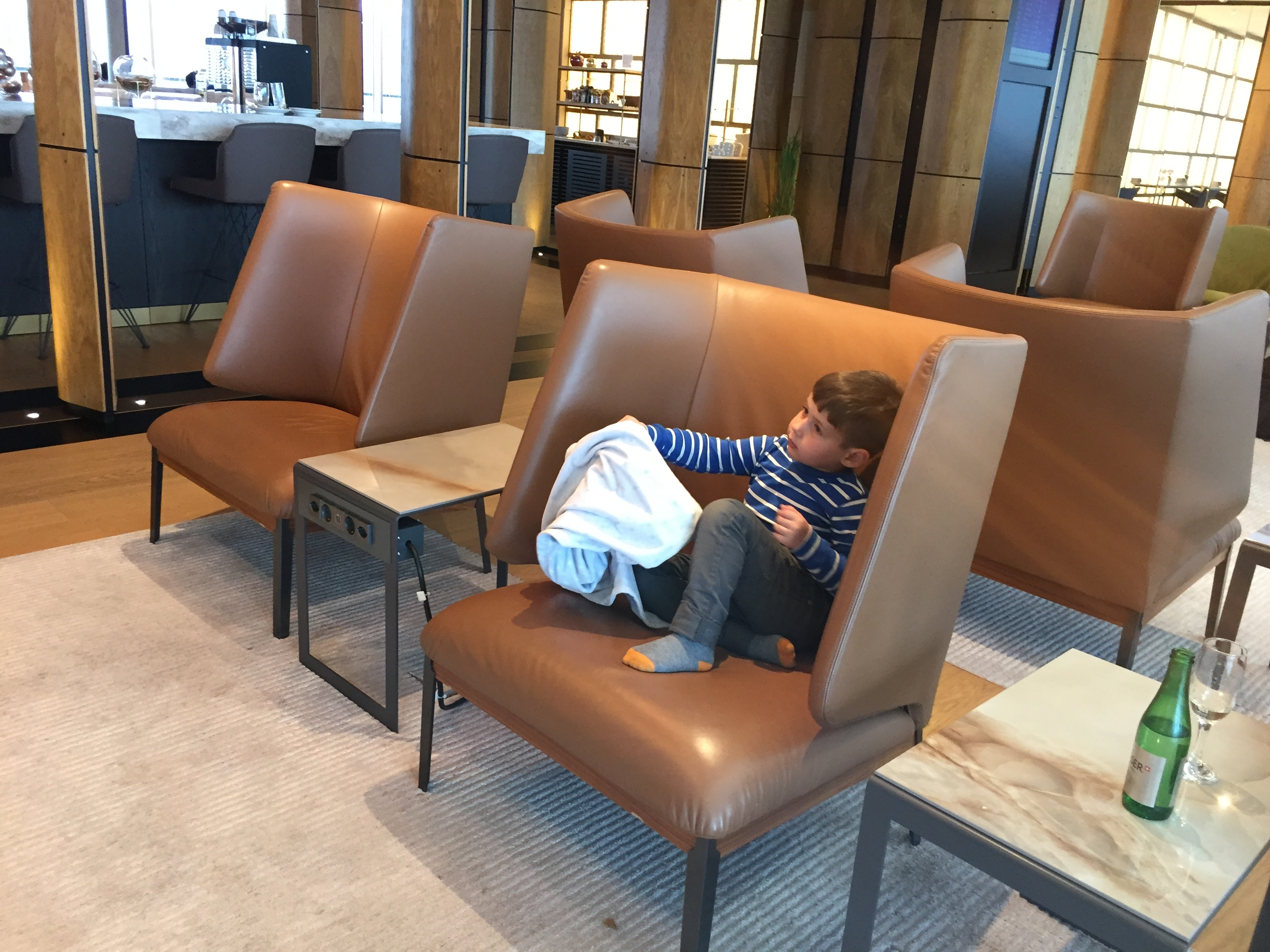 Another sitting lounge area for cartoon fans - Zurich Terminal E
