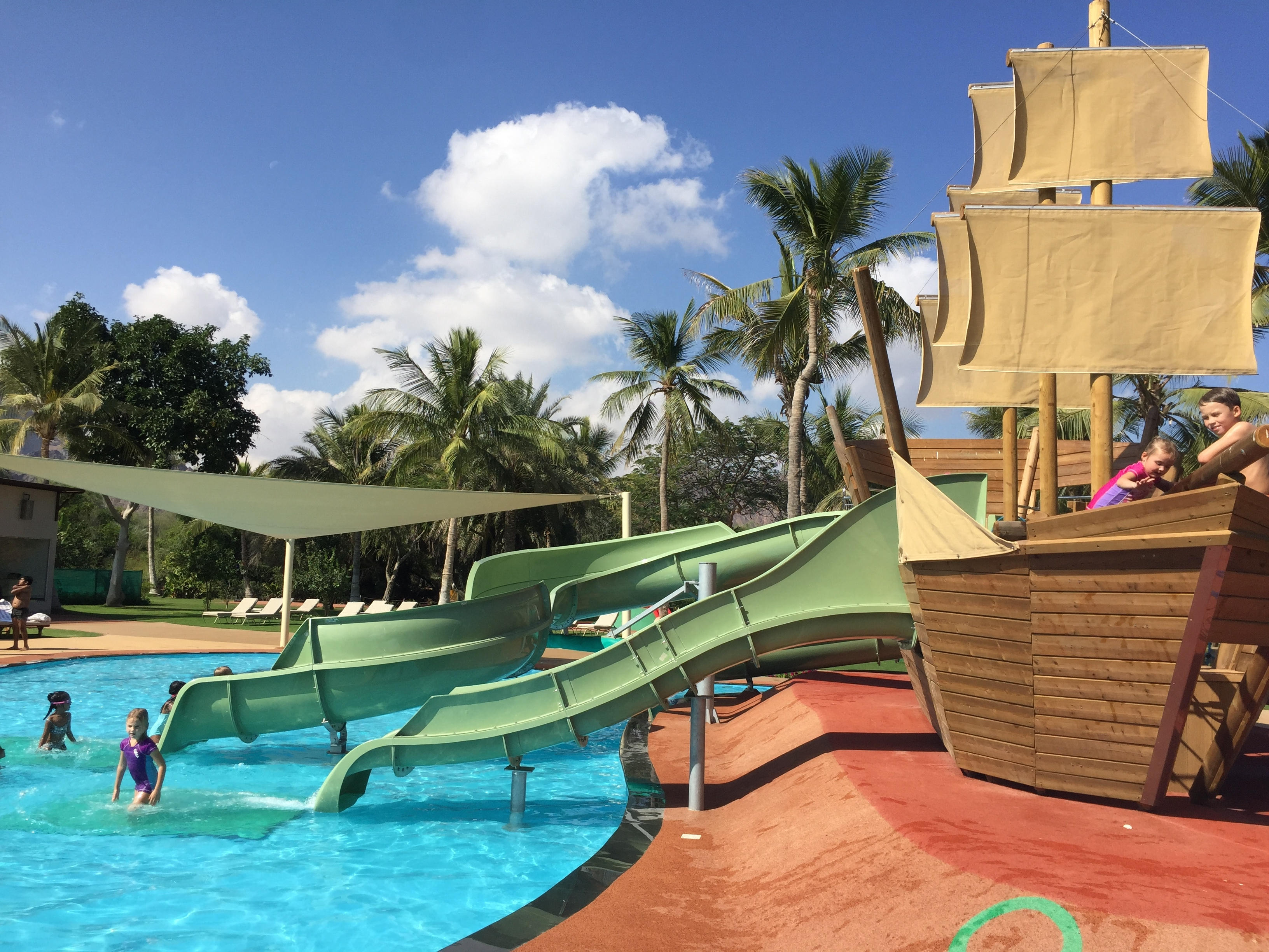 Ritz Kids pool area - Al Bustan Palace Muscat