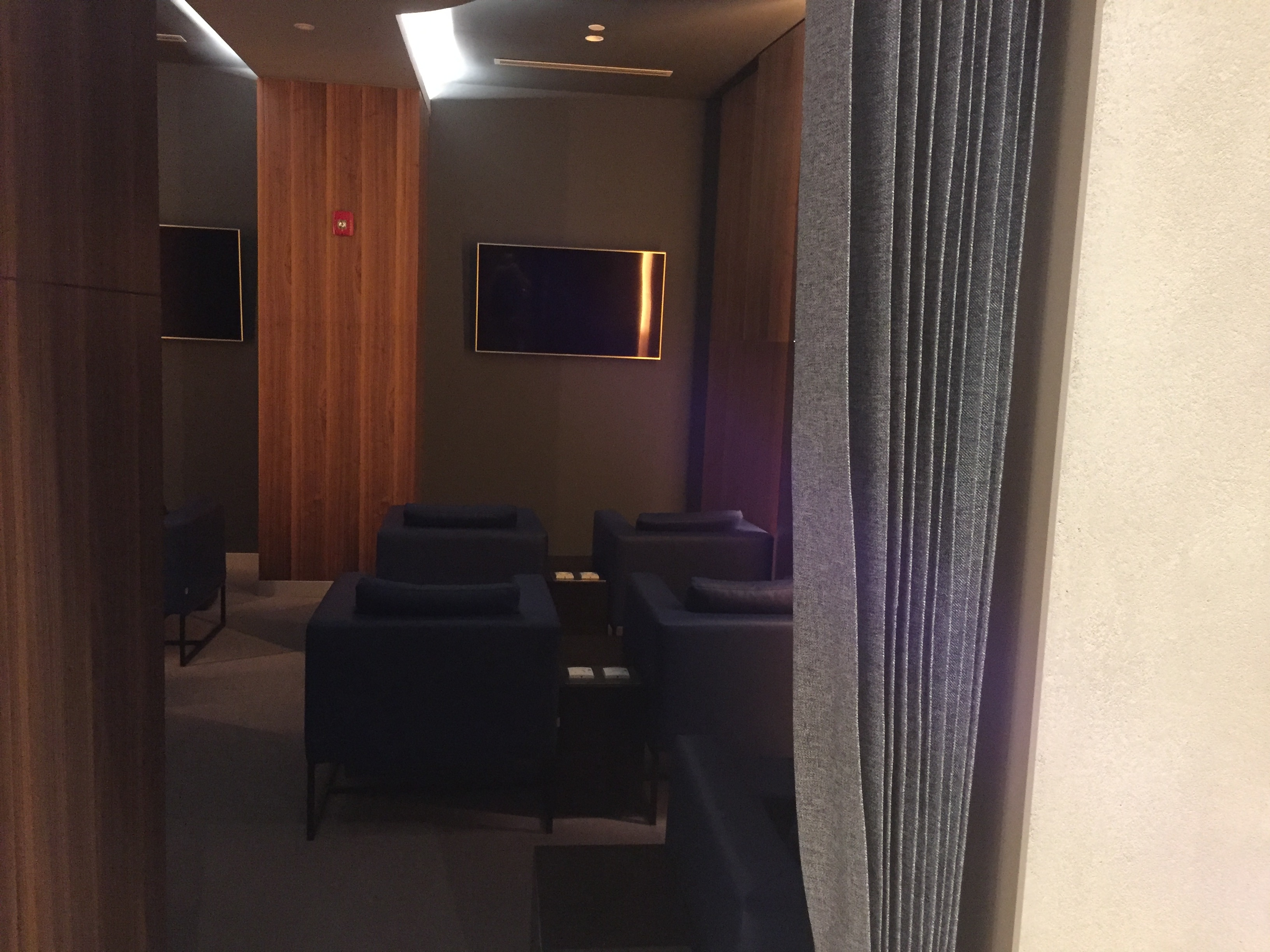 Home theatre lounge | The Primeclass Lounge Muscat