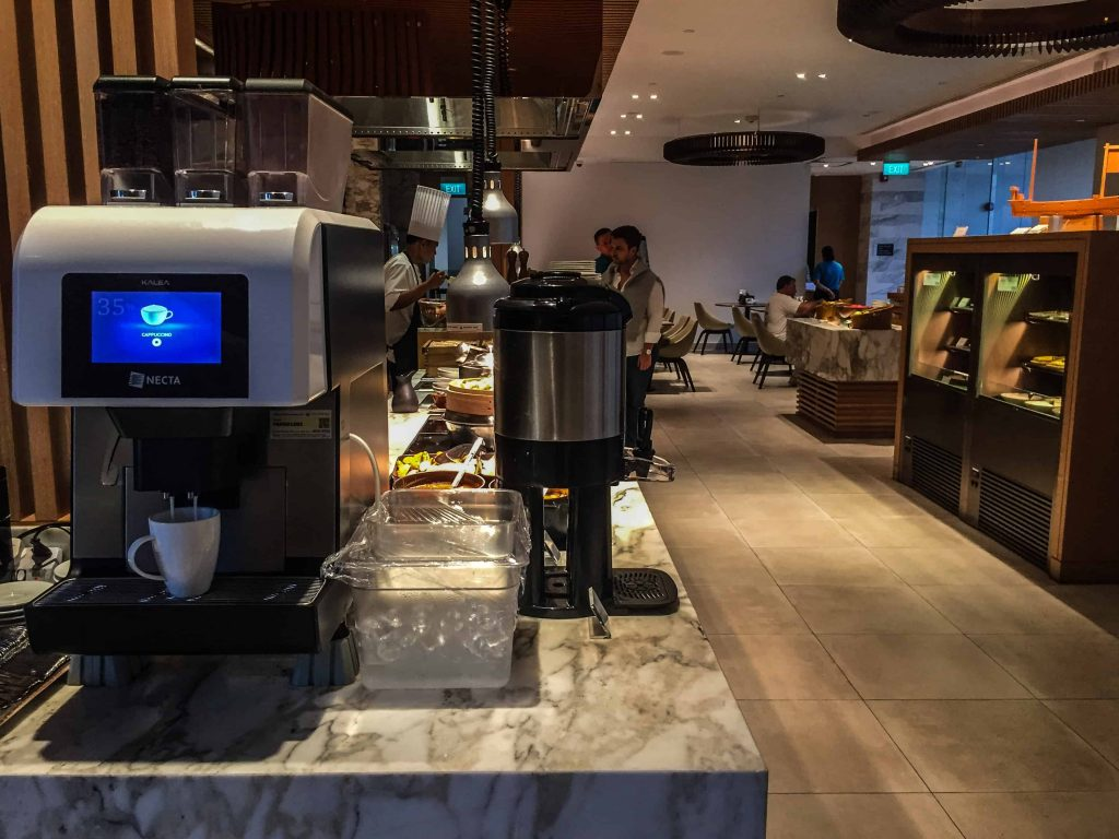 Coffee machine | Hilton Garden Inn Singapore