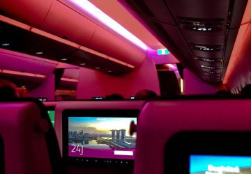 Qatar Airways new A350 Economy Class