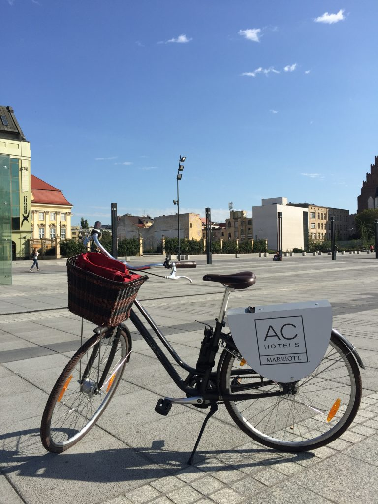 AC Hotel Wroclaw bicycle rental