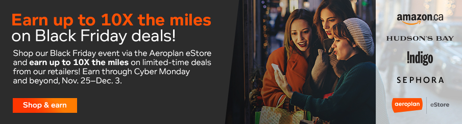 Aeroplan Black Friday deal 2019