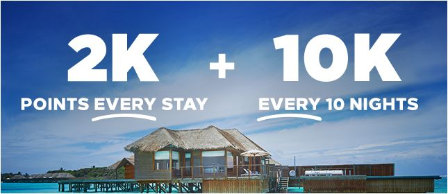 Unlimited Points Hilton Honors