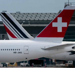 Air France & Swiss tails