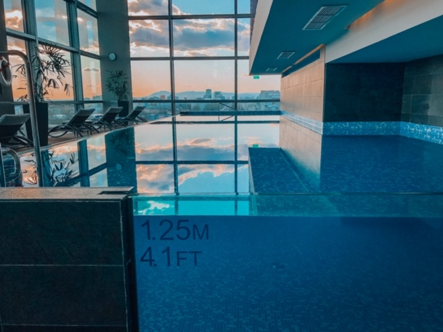DoubleTree Zagreb fantastic indoor pool