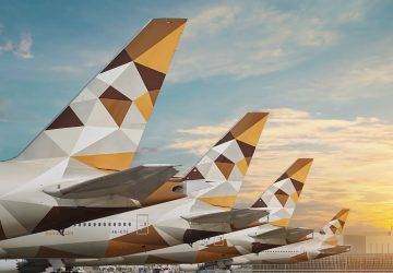 Etihad Airways tails